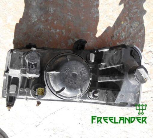 Фара передня права Land Rover Freelander жовтий повортнік