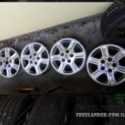 Титанові диски R15 Land Rover Freelander 1998-2006