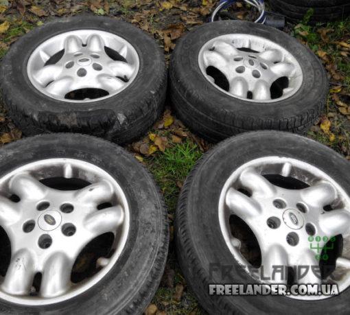 Титанові диски R16 Land Rover Freelander