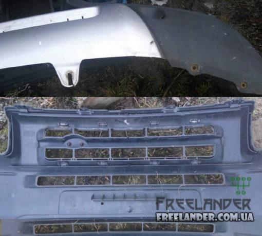 Бампер передній Freeladner до 2004 DPC101620LML