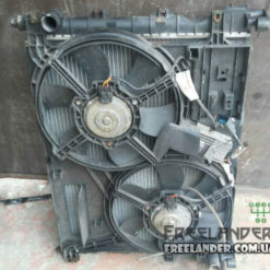 Дифузор радіатора з вентиляторами (комплект) Land Rover Freelander