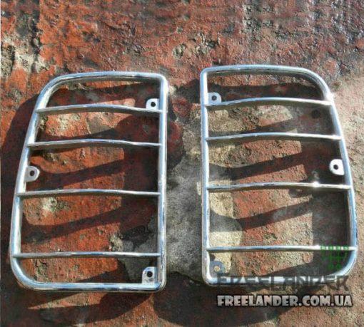 Накладки задніх стопів (фонарів) Land Rover Freelander