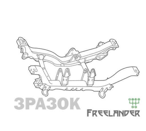 Фото Балка задня (підрамник) Land Rover Freelander 1 KHB000080
