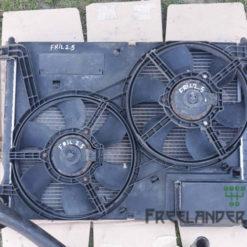Фото Дифузор радіатора взборі з вентиляторами Land Rover Freelander 1 2.5 V6