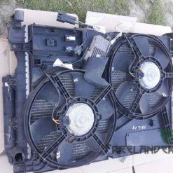 Фото Дифузор радіатора з вентиляторами Freelander I 1.8