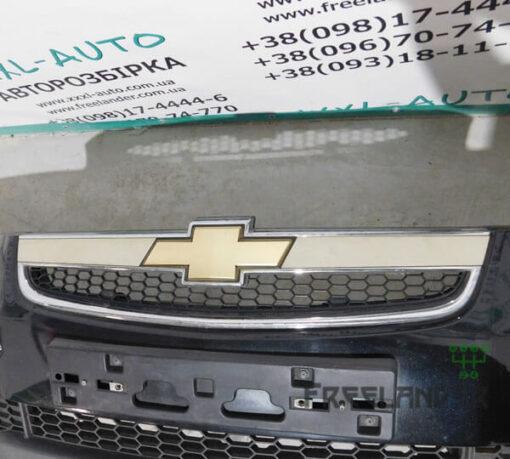 Фото Бампер передній чорний колір Chevrolet Captiva 2006-2011