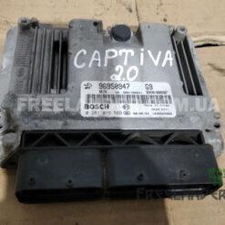 Фото Блок управління двигуном Chevrolet Captiva 2.0 Diesel 2006-2011 96950947 0281015569