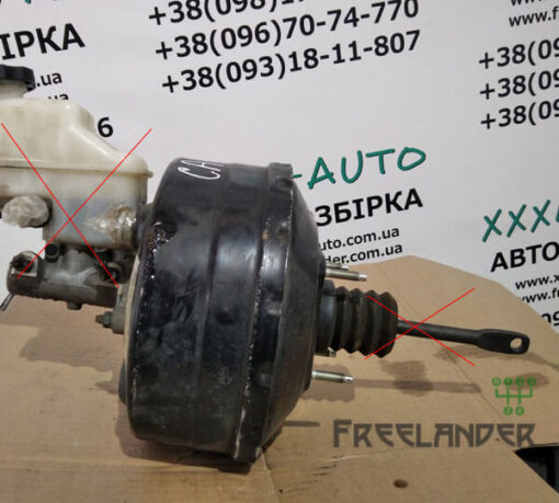 Фото Вакуумний підсилювач гальм Сhevrolet Captiva 2006-2011