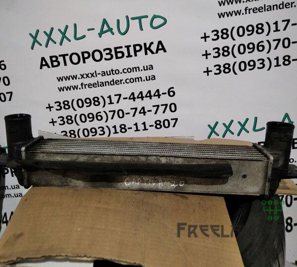 Фото Радіатор інтеркулера Chevrolet Captiva 2006-2011 2.0D 96629070