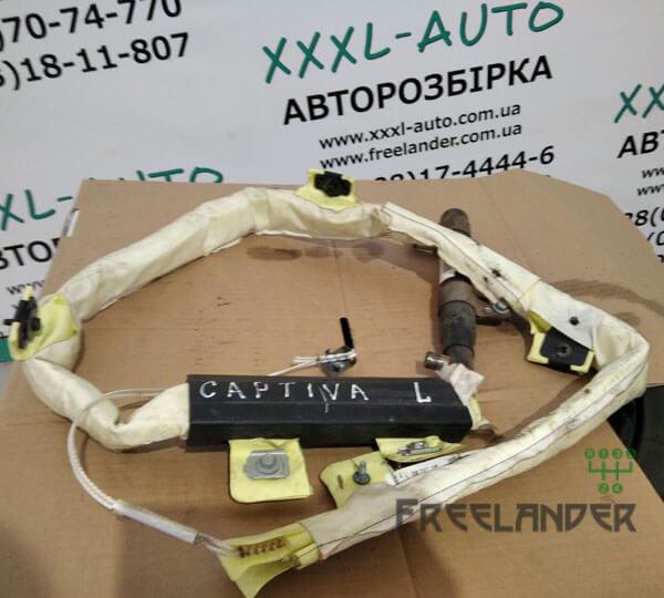 Фото Шторка безпеки (airbag) ліва Chevrolet Captiva 2006-2011 96631496